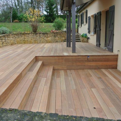 bois bangkirai free exotic wood with bois bangkirai beautiful lames de terrasse en bois de. Black Bedroom Furniture Sets. Home Design Ideas