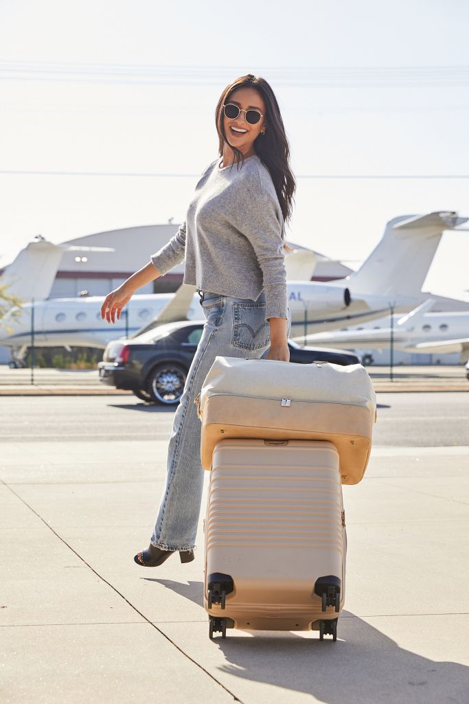 Shay Mitchell Just Designed The Perfect Luggage For Traveling And It S Surprisingly Affordable Shay Mitchell Womens Luggage Travel Bags