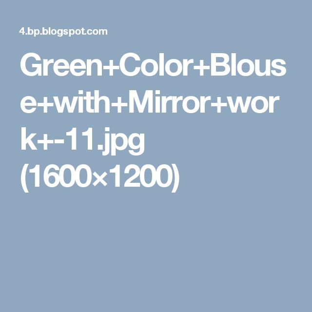 Green+Color+Blouse+with+Mirror+work+-11.jpg (1600×1200)