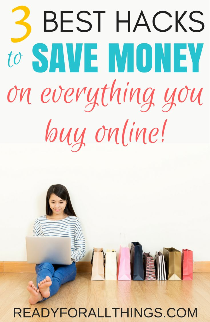 I found the BEST money-saving online shopping hacks! Shopping for your favorite clothes, home decor, and baby items is so much more affordable when you use these tips and ideas to save money while you're shopping online.