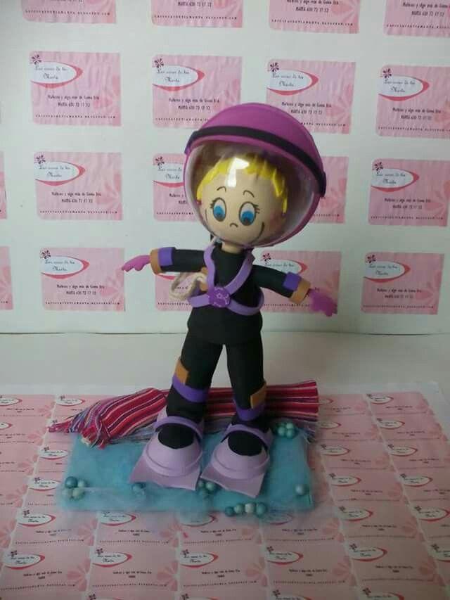 www.lascosasdetiamarta.blogspot.com Clases de buceo. Fofubolígrafo