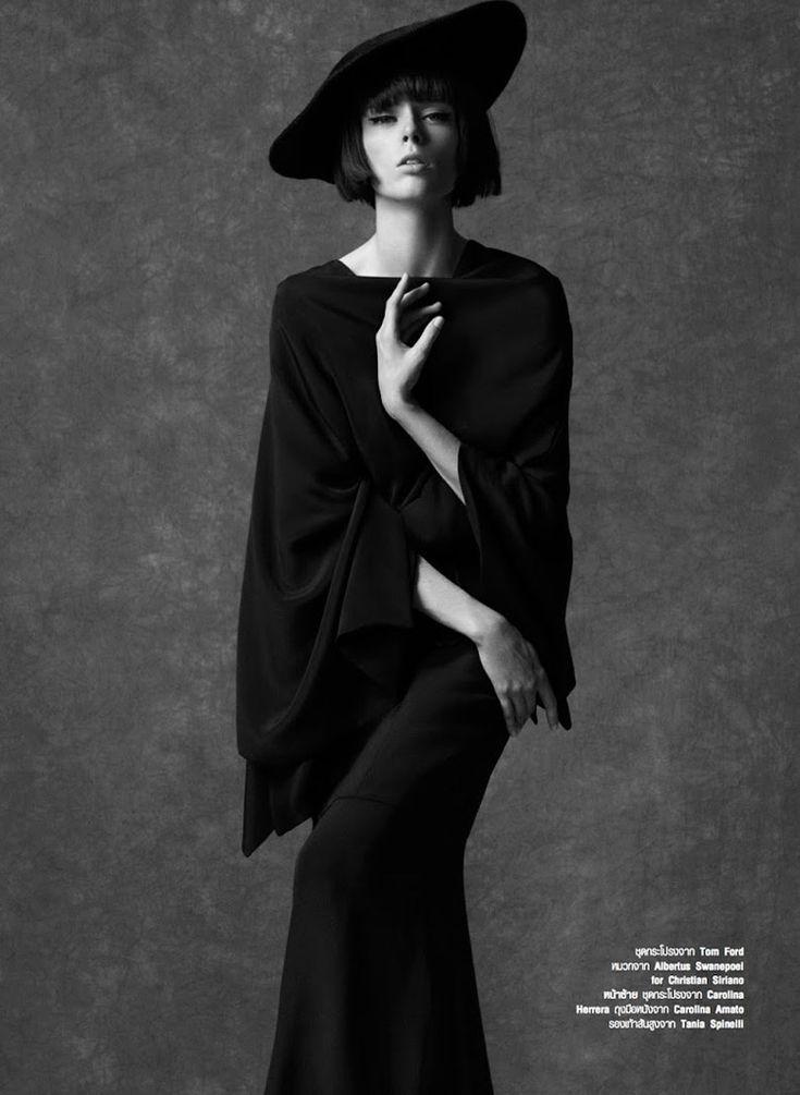 Coco Rocha by Natth Jaturapahu for Harper's Bazaar Thailand