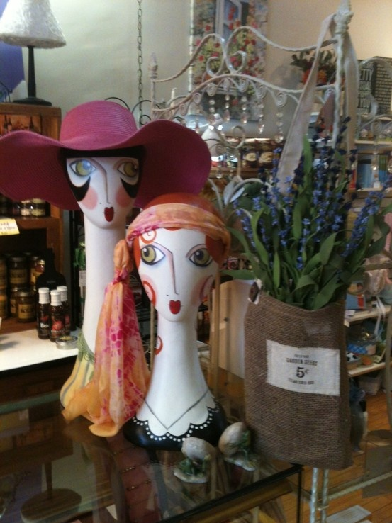 Ethyl and Gladys welcome you to Smockingbird's