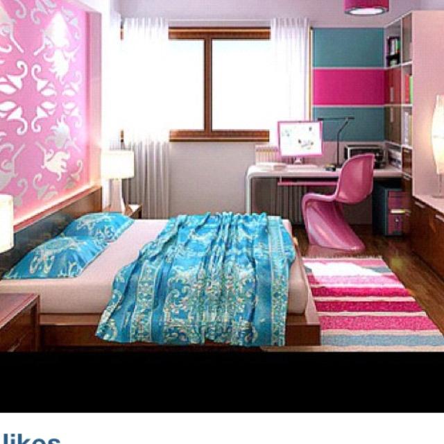 Dream Bedrooms For Teenage Girls Blue 96 best dream bedrooms & bunk beds images on pinterest