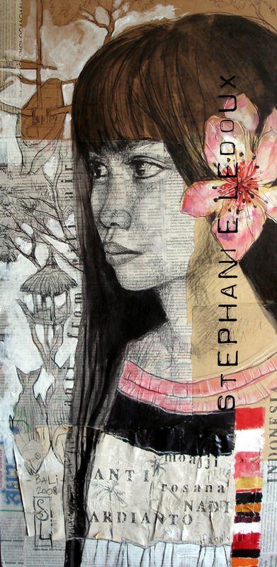 Stephanie LEDOUX-  what amazing art!!!!