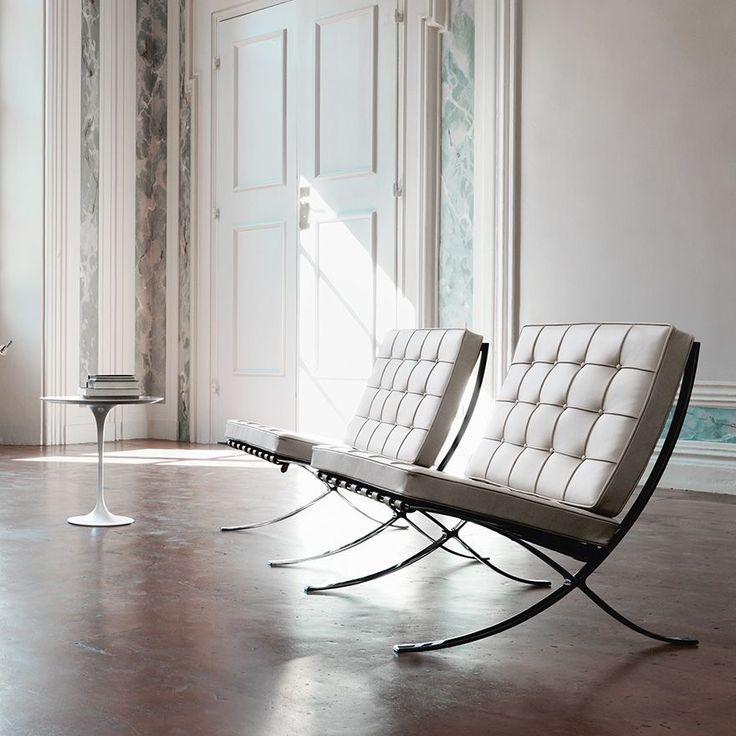 Le fameux fauteuil Barcelona entre élégance et modernité