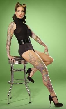 Hannah Aitchison ~ She is an amazing tattoo artist.  Hoping to get a piece by her one day