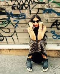 The glitter mood - Street Leopard Print