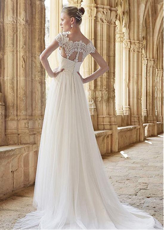 23 mejores imágenes de vestidos en Pinterest | Vestidos de boda ...