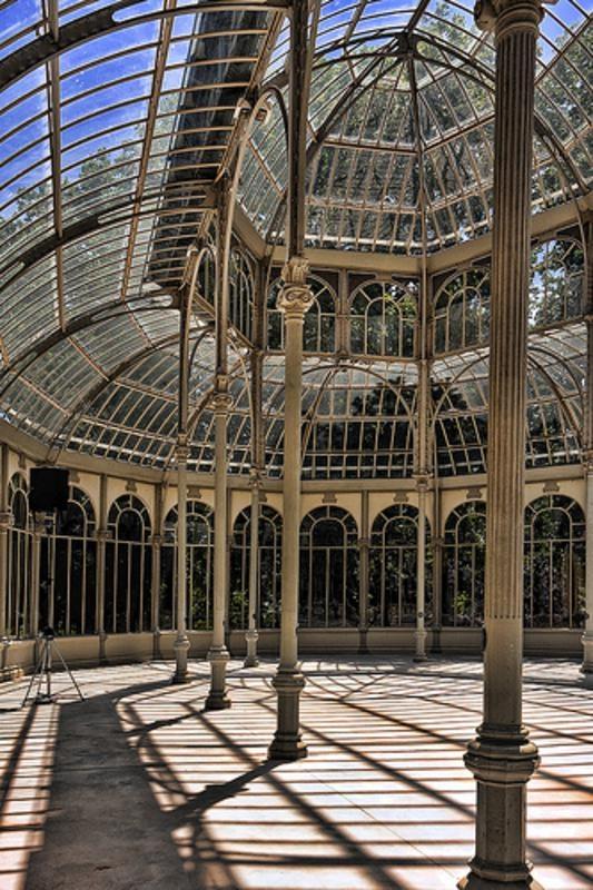 interior, Crystal Palace, Madrid