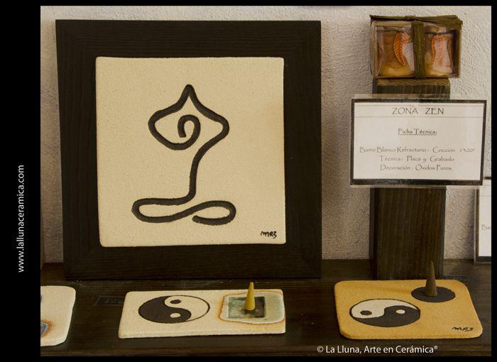 Zona Yoga/Zona Zen - Diseño La Lluna, Arte en Cerámica®