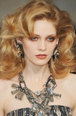 Oscar de la Renta 70's Glam Style #Makeup