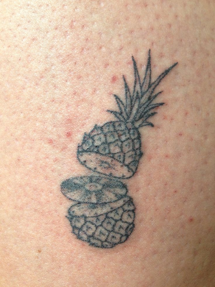 magpiefeed hand poked ananas on olle berlin by magpie. Black Bedroom Furniture Sets. Home Design Ideas