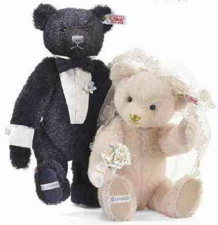 Steiff 677083 The Happy Couple Limited Edition