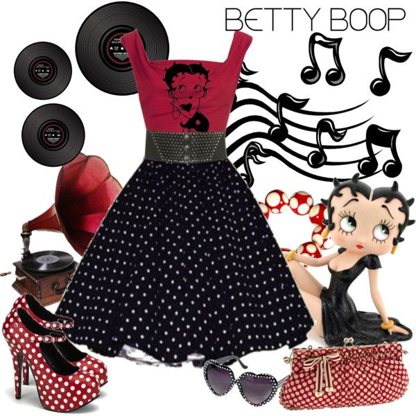 """Betty Boop"" by adorablet on Polyvore"
