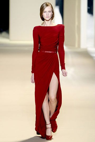 Elie Saab fall 2011~perfect red~perfect