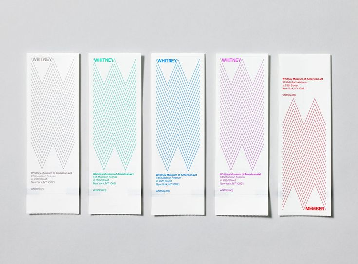 Whitney Museum of American Art / Experimental Jetset | Design Graphique