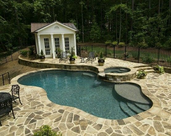 73 best pools, patios, and backyard ideas images on pinterest ... - Pool Patio Designs