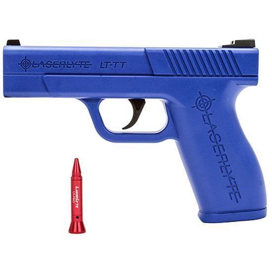 LaserLyte LT-TTP Blue Trigger Tyme Pro Full Size Trainer Kit (Trainer & Pistol) #LaserLyte