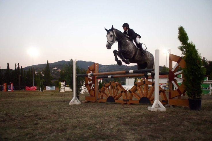 #throwbackthursday  @portocarras Grand Prix Horseback Riding Race!  #portocarras #horse #horseriding #riding #race #horseridingacademy #halkidiki #sithonia #travelling