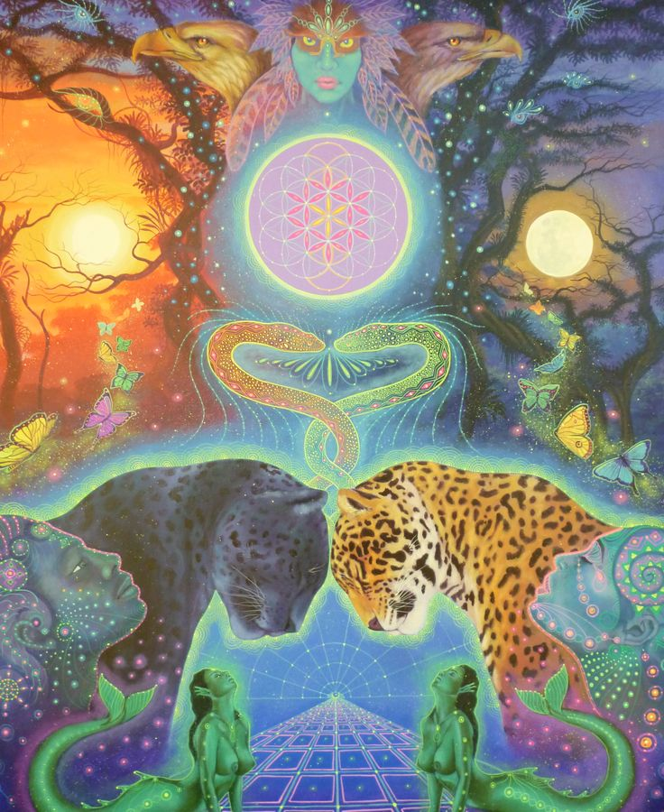 Ayahuasca Visionary Artist - Ruysen Flores