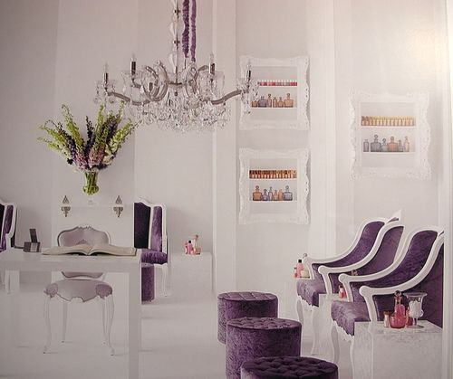 The perfect nail salon look   LUUUX