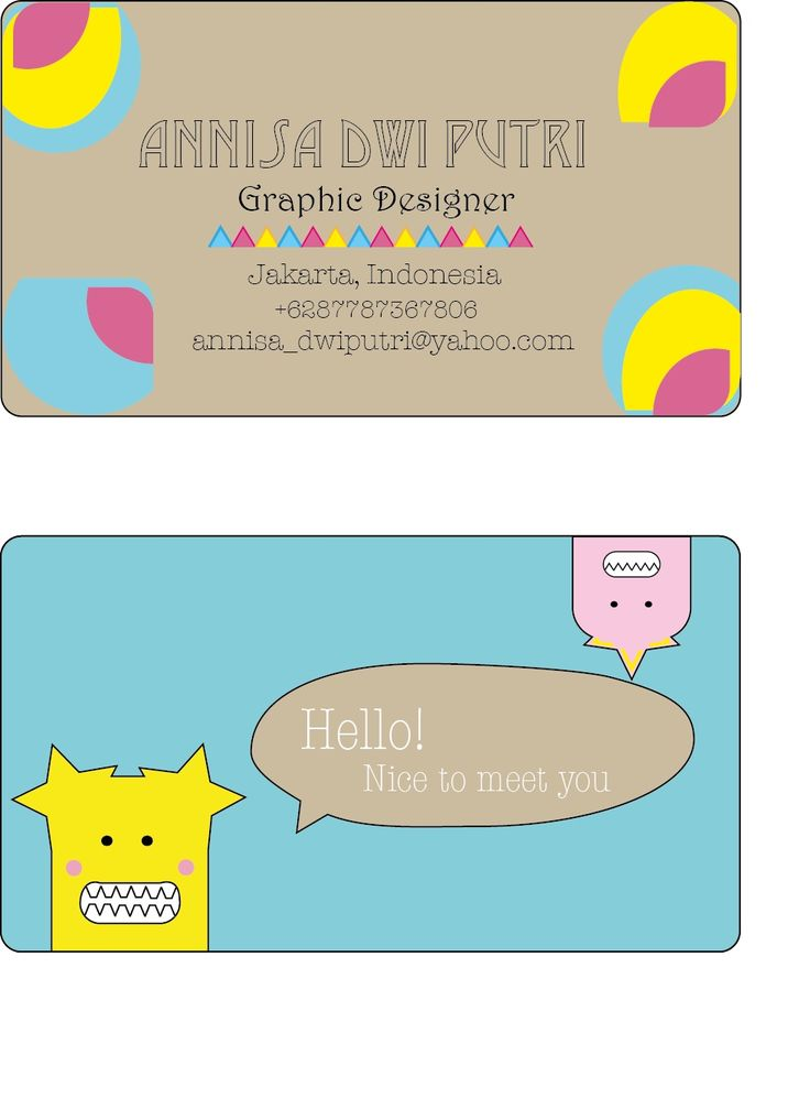 Design Kartu Nama