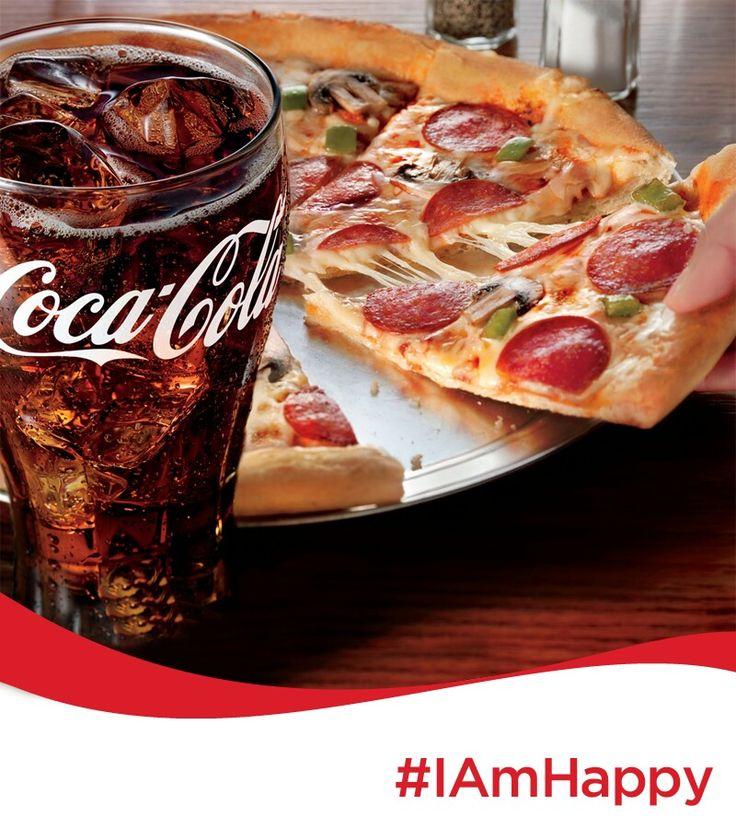 #IAmHappy Celebrating my Friends Birthday with @cocacola