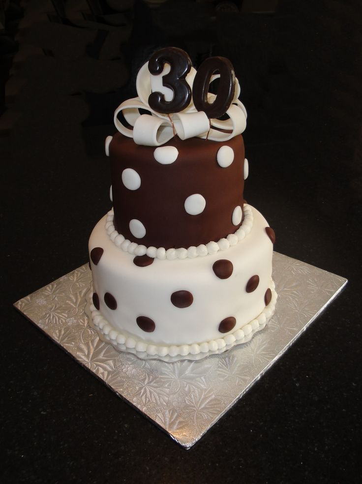 Cake Design 30th Birthday : 17 Best images about Cakes on Pinterest 30th birthday ...