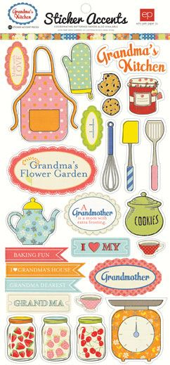 Collections | echo park paper co. Grandma's Kitchen