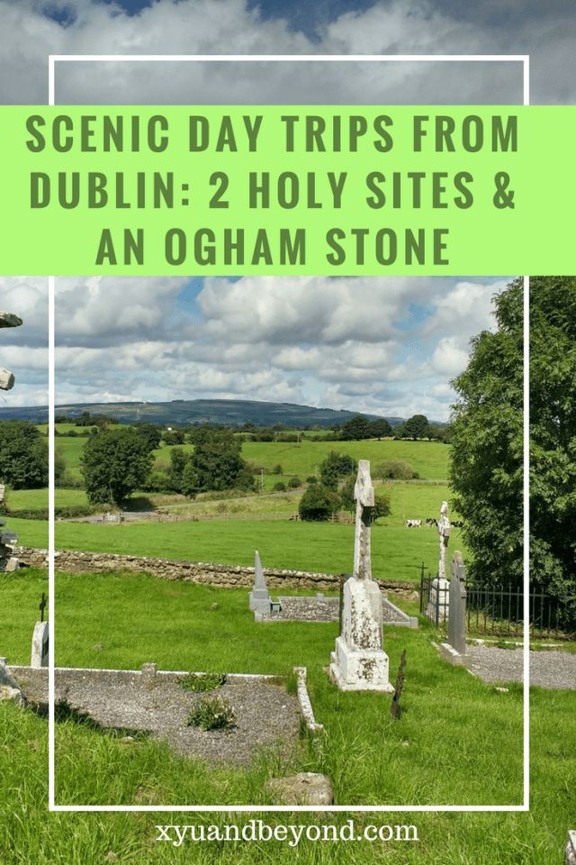 Ireland's Ancient East is home to many sacred sites from Holy Wells to Ogham stones. This is an easy day trip from Dublin #dublin #ireland #holysitesireland #heritageireland #irelandsancienteast