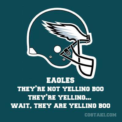 New Team Slogan: PHILADELPHIA EAGLES