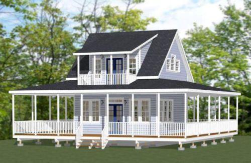 20x20-Tiny-Home-PDF-Floor-Plan-706-sq-ft-Model-5C | Shed ...