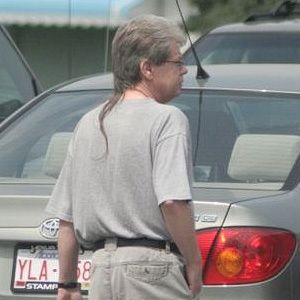 The Rattail The Rattail: For the man who wants a ponytail, but can't commit.