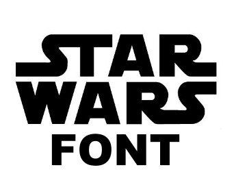Star Wars Font Alphabet and numbers SVG, DXF, EPS for Cameo and Cricut Explore machines by Vinyldecalsworld on Etsy https://www.etsy.com/listing/260006543/star-wars-font-alphabet-and-numbers-svg