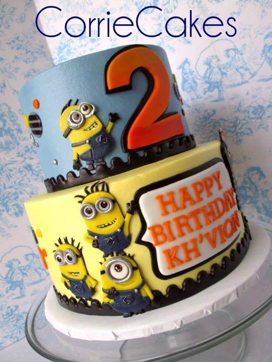 33 best Kids Minion Theme Cake images on Pinterest Best birthday