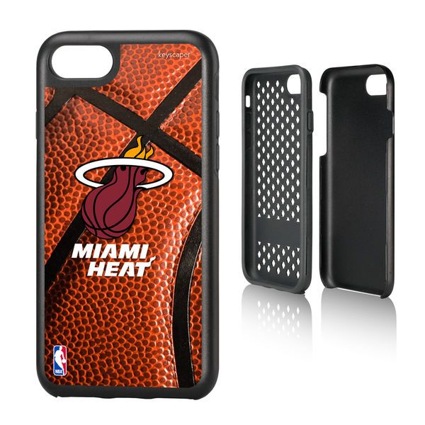 Miami Heat Basketball Rugged iPhone 7 Case - $29.99