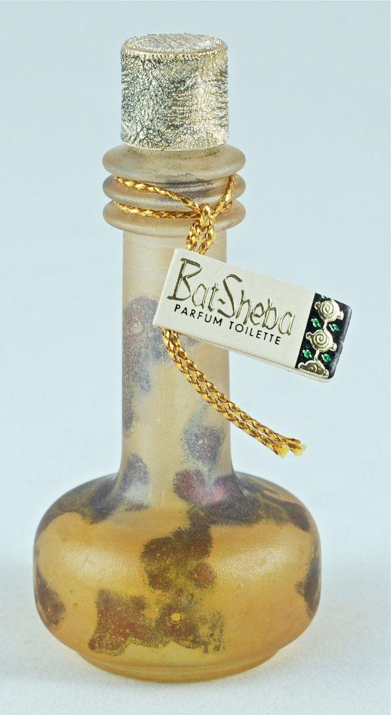 Vintage Bat-Sheba Perfume by Judith Muller by BirneyCreek on Etsy