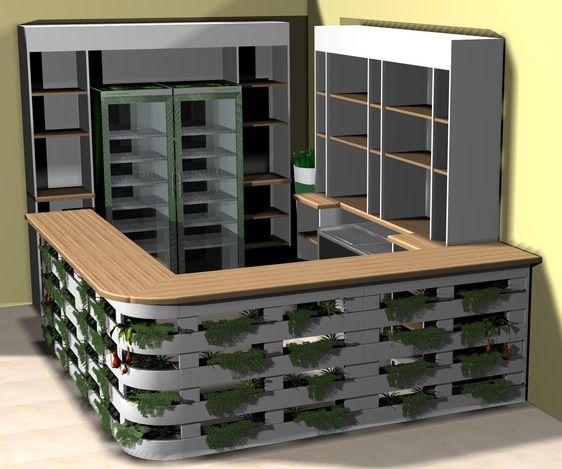 Con Jard 237 N Vertical Barras De Bar Recicladas Bar Bed