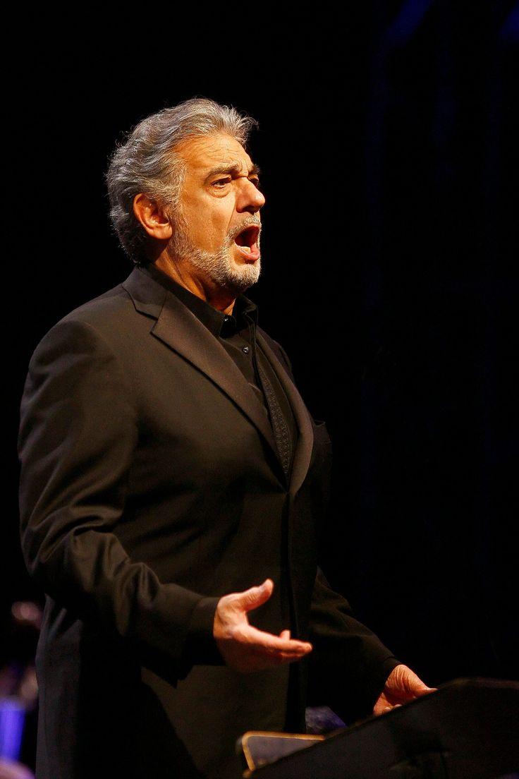 Placido Domingo. Spanish opera singer