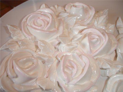 Крем белковый заварной (итальянская меренга) - ХЛЕБОПЕЧКА.РУ - рецепты, отзывы, инструкции