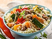 Moroccan Beef and Vegetable Stew with Couscous (recipe with image) | Cooksunited.co.uk