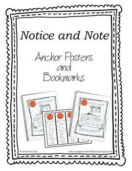 14 best Teaching--Notice and Note images on Pinterest