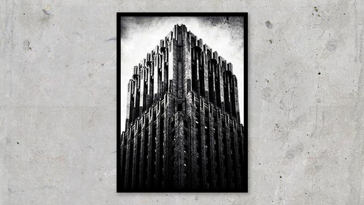 The Dark Tower / The Shell Building in San Francisco