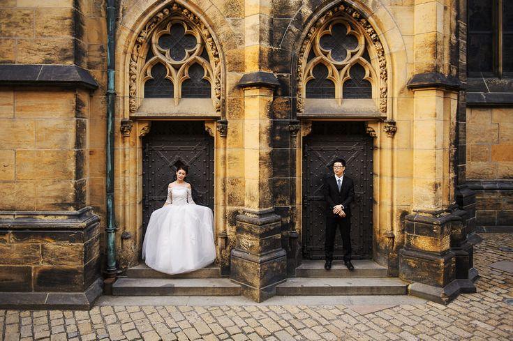 China wedding in Prague: Li&Sue – Wedding photographers, Prague
