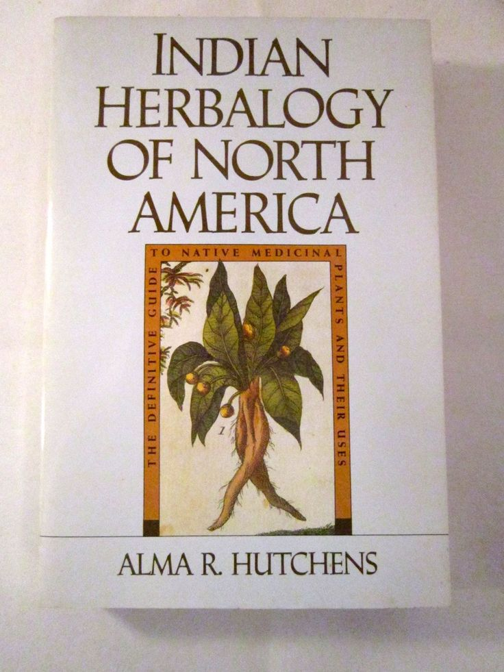 Native Medicinal Plants Part - 50: Guide To Native Medicinal Plants, Indian Herbalogy Of North America By Alma  R Hutchens 1991
