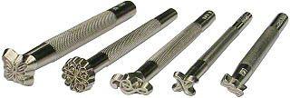 Lederhaus ® Punzierwerkzeug: punzieren, Punziereisen, Punzierstempel zur Lederbearbeitung