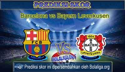 Prediksi Skor Barcelona vs Bayern Leverkusen 30 September 2015 Malam Ini, Lengkap Jadwal Jam Tayang Barcelona vs Bayern Leverkusen pada ajang Pertandingan Liga Champions yang akan mengadu dua kekuatan antara Prediksi Barcelona vs Bayern Leverkusen