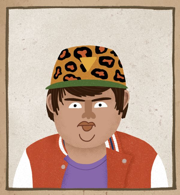 I loved Hunt for the Wilderpeople so much I had to enter the poster competition for Little White Lies. This is a close up of Ricky Baker