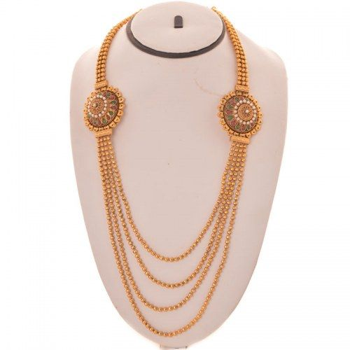 Online Shopping for Temple Jewelry Long Necklace Rani H | Necklaces | Unique Indian Products by JewelsGenie.com - MJEWE78034989780